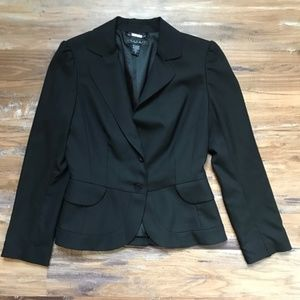 Laundry by Shelli Segal- Fitted Black Blazer